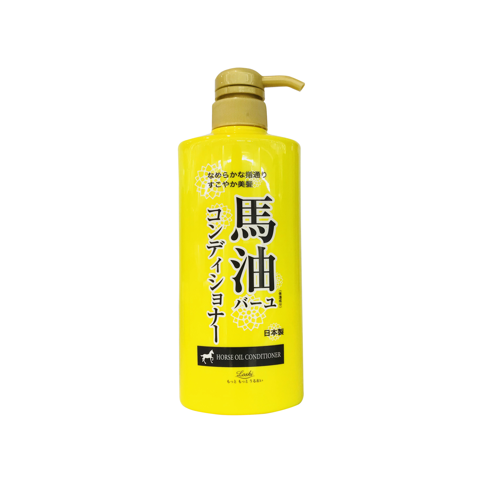 Loshi 北海道天然配方马油护发素 600ml