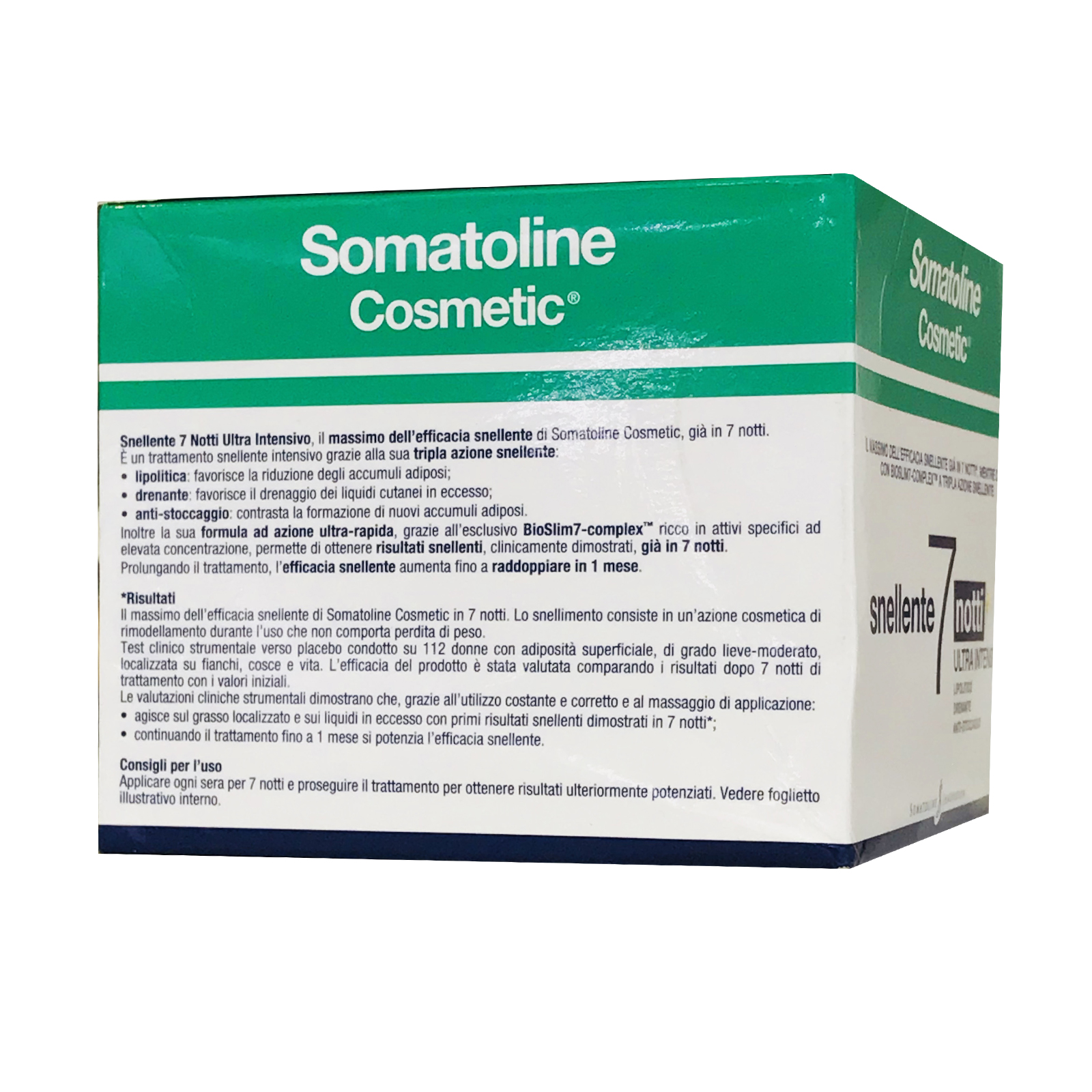 Somatoline Cosmetic Snellente Intensivo 7 Notti 400ml (七日瘦)