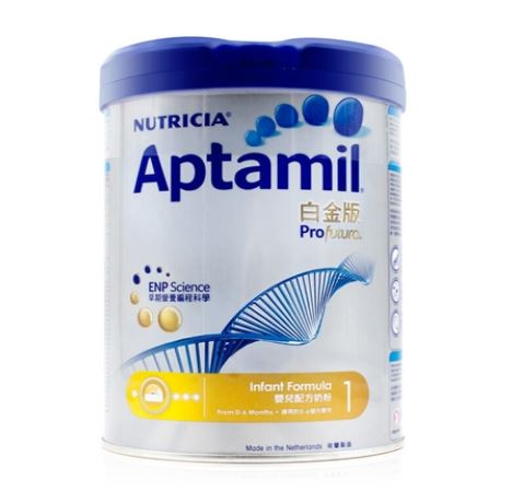 Aptamil爱他美(港版)白金版婴儿配方奶粉1段 900克(2 罐起发货)