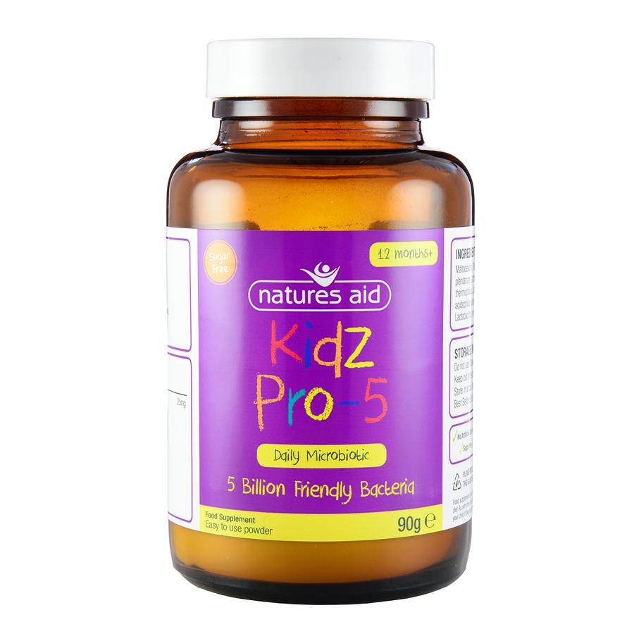 Natures Aid Kidz Pro-5 50亿益生菌 50g(1-12岁)