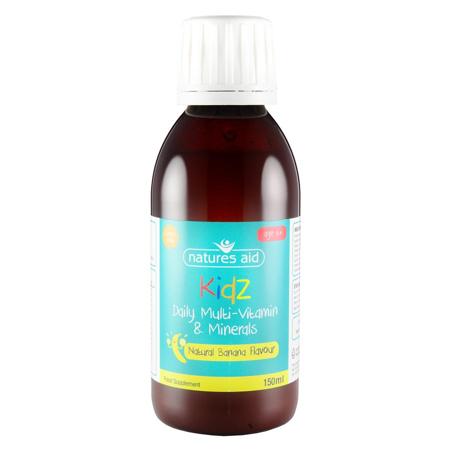 Natures Aid Kidz 复合维生素及矿物质液 150ml(6-12岁儿童)