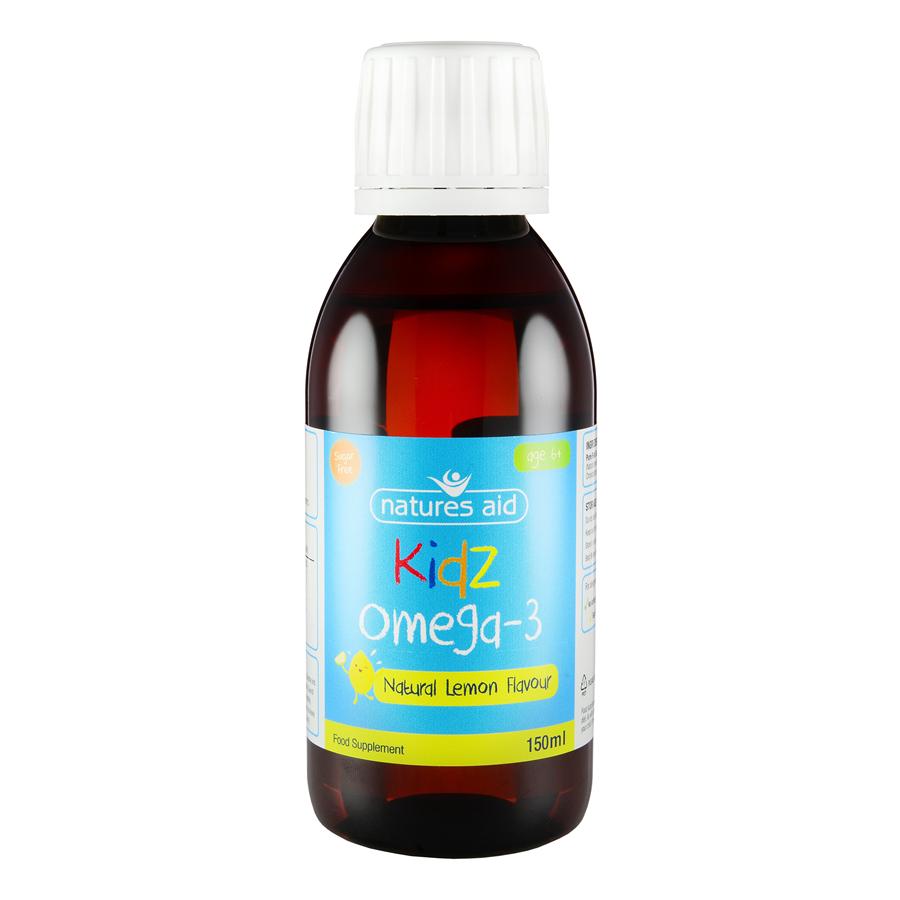 Natures Aid Kidz  Omega-3液 150ml(6-12岁儿童)