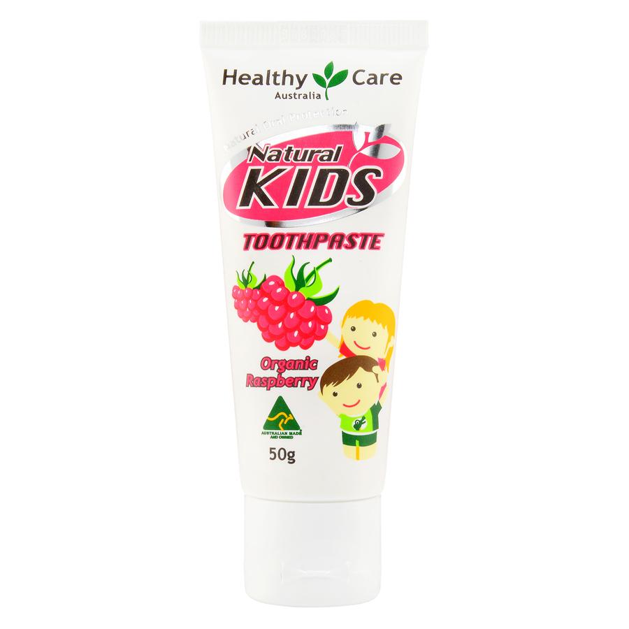Healthy Care 天然儿童牙膏有机红桑子味 50g
