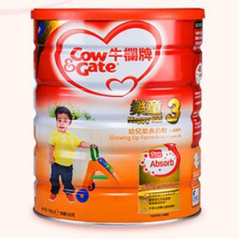 港版牛栏乐童3段婴儿奶粉 900g