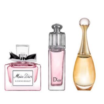 Dior迪奥香水女士花漾甜心真我小样3件套20ml