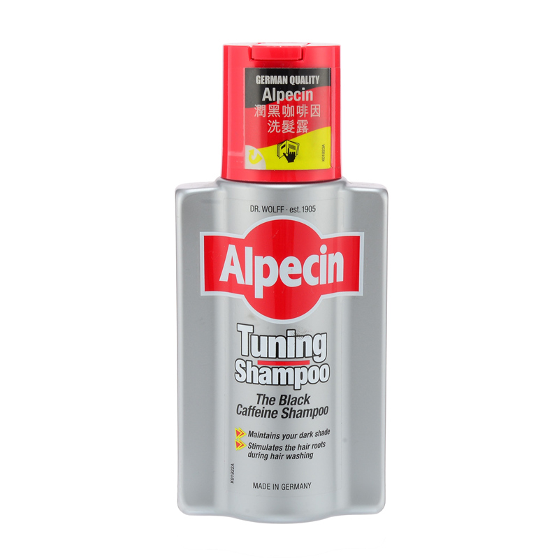 Alpecin 润黑咖啡因洗发露 200ml