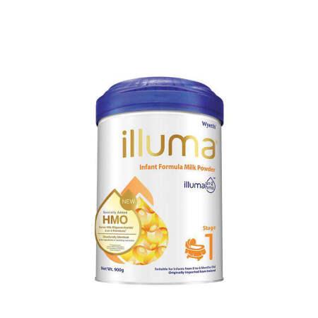 港版惠氏ILLUMA启赋婴儿配方奶粉1段 900g