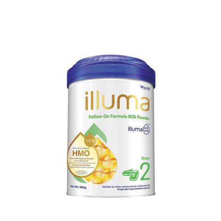 港版惠氏ILLUMA启赋婴儿配方奶粉2段 900g