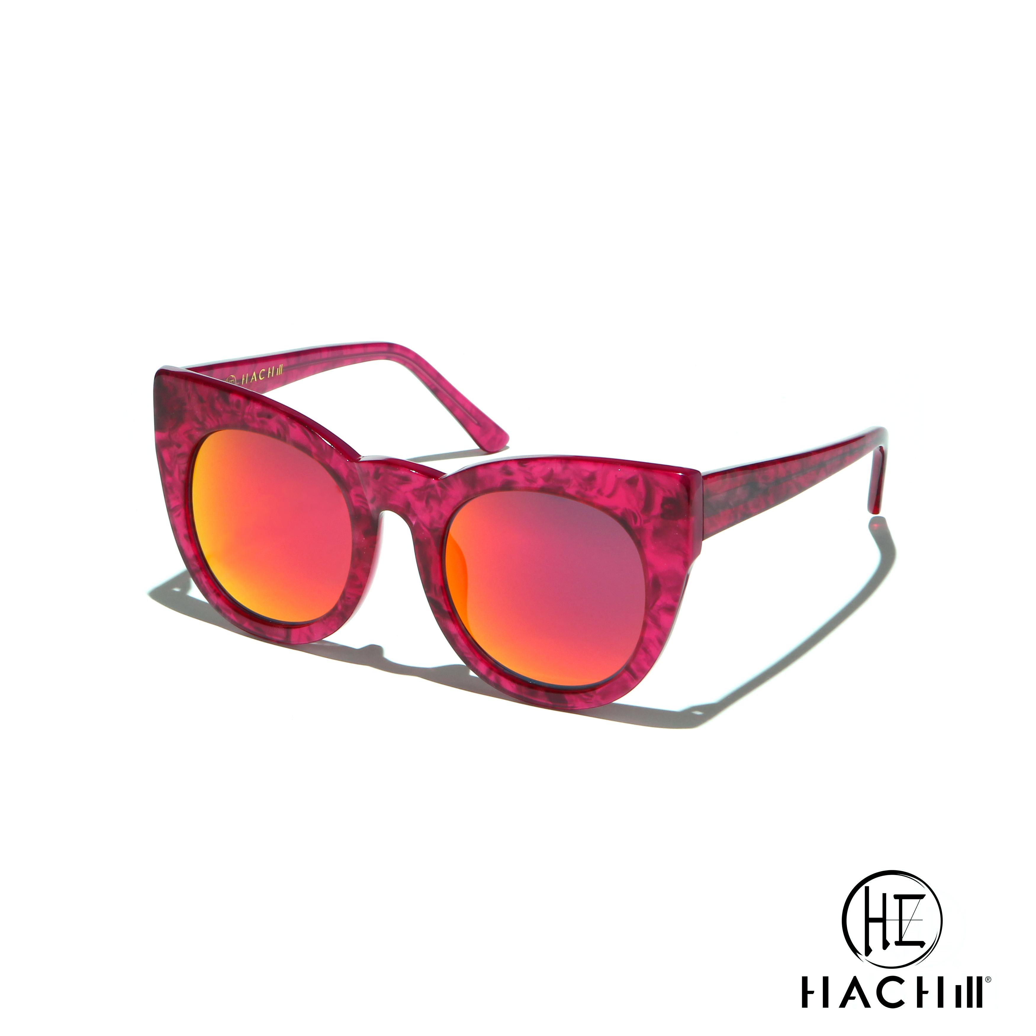 Hachill 太阳眼镜 HC8221S-C4 粉红色