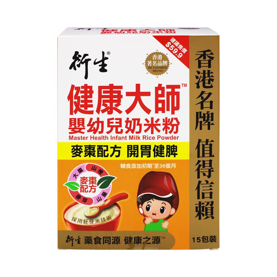 衍生 - 健康大师 婴幼儿奶米粉 (麦枣配方) 15包